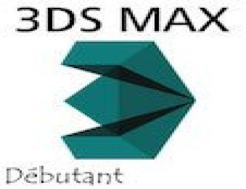 Formation 3DS MAX – Débutants