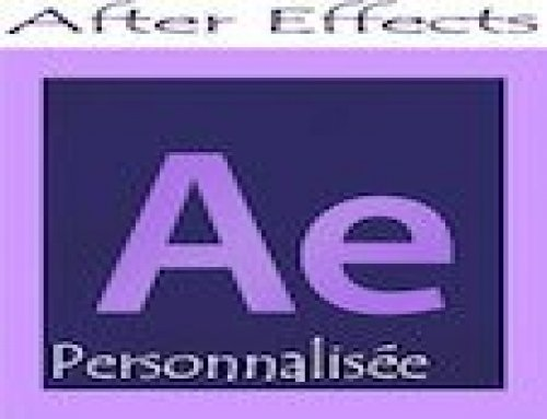 Formation After Effects – Personnalisée