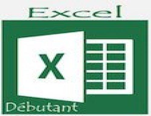 Formation Excel – Débutants