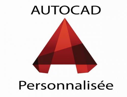 Formation Autodesk Autocad – Personnalisée
