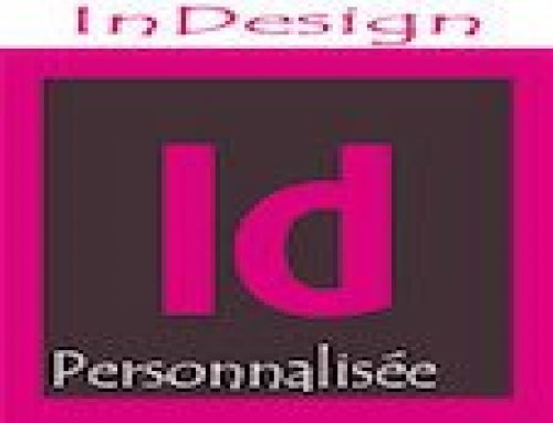 Formation Indesign – Personnalisée