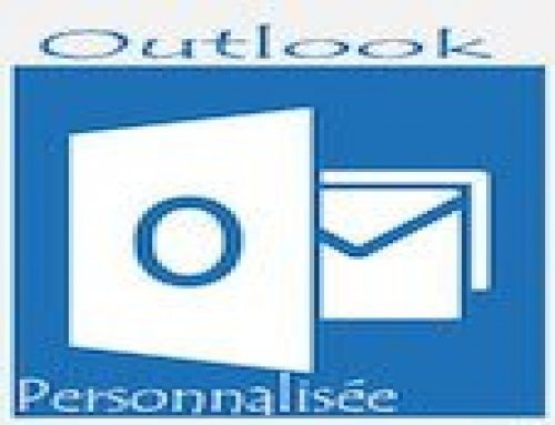 Formation Outlook – Personnalisée