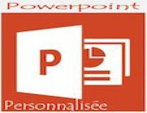 Formation Powerpoint – Personnalisée