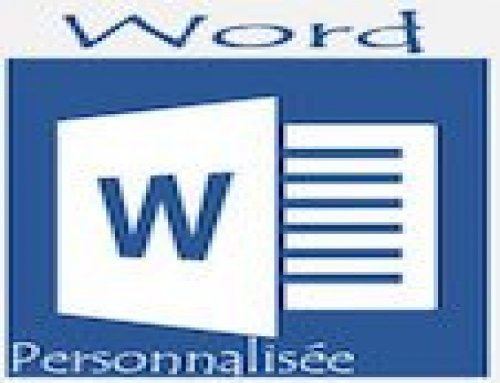 Formation Word – Personnalisée